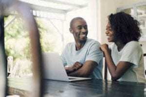 couple starting mortgage